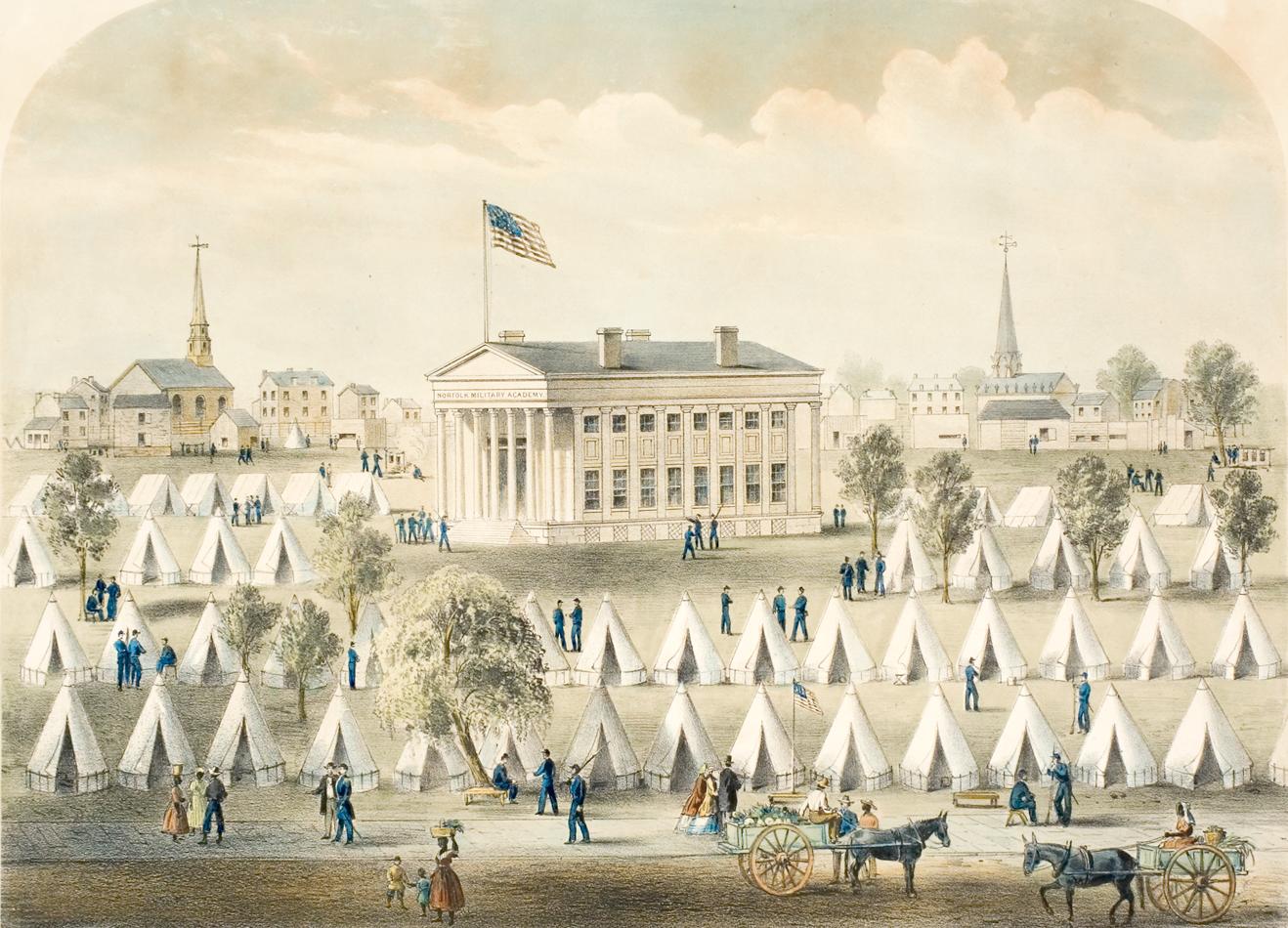Camp Naglee - 1863